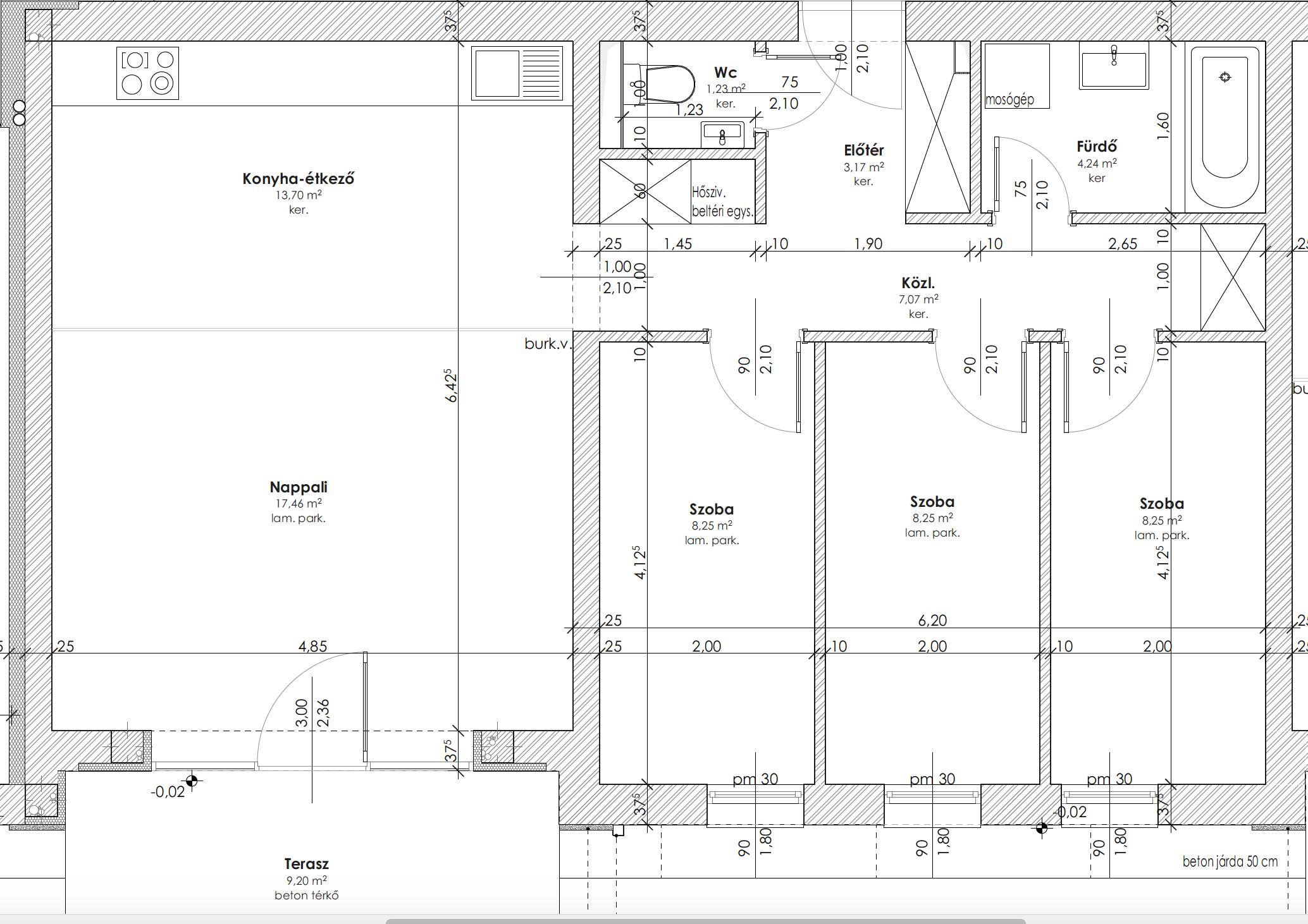 Újépítésű, modern, földszinti lakás Kozármislenyben